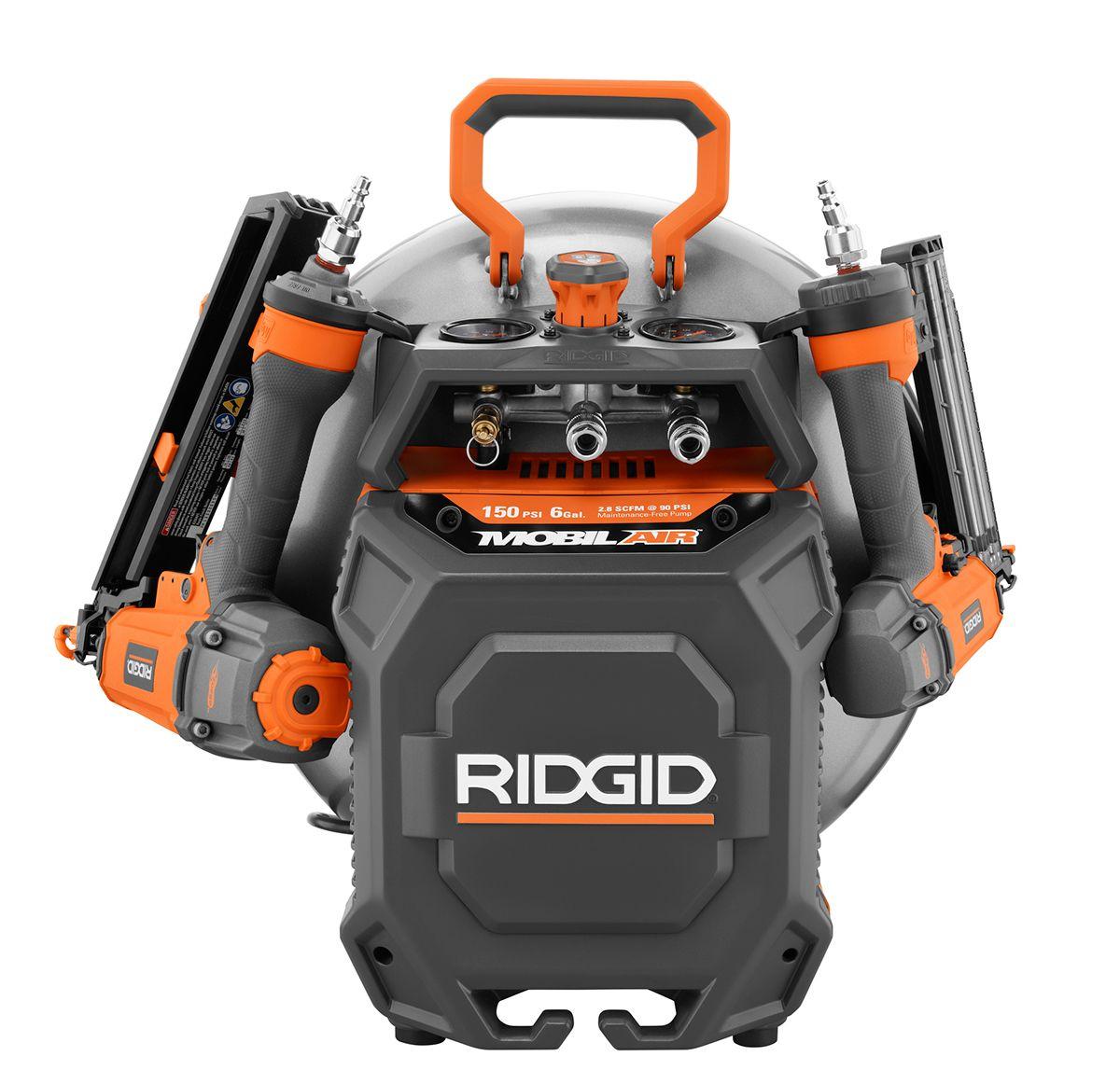 Introducing the New RIDGID 6 Gal. Vertical Compressor
