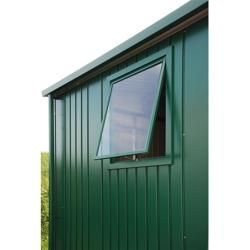 Photo of Biohort window element Europe (silver metallic, Plexiglas®, dimensions window: 50 x 60 cm) BioHort