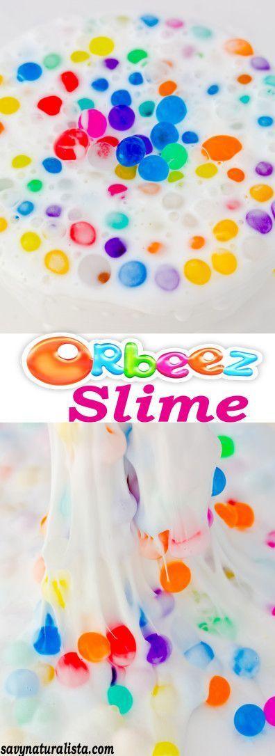 Como Hacer Slime Facil Sin Borax Y Sin Almidon Orbeez Slime