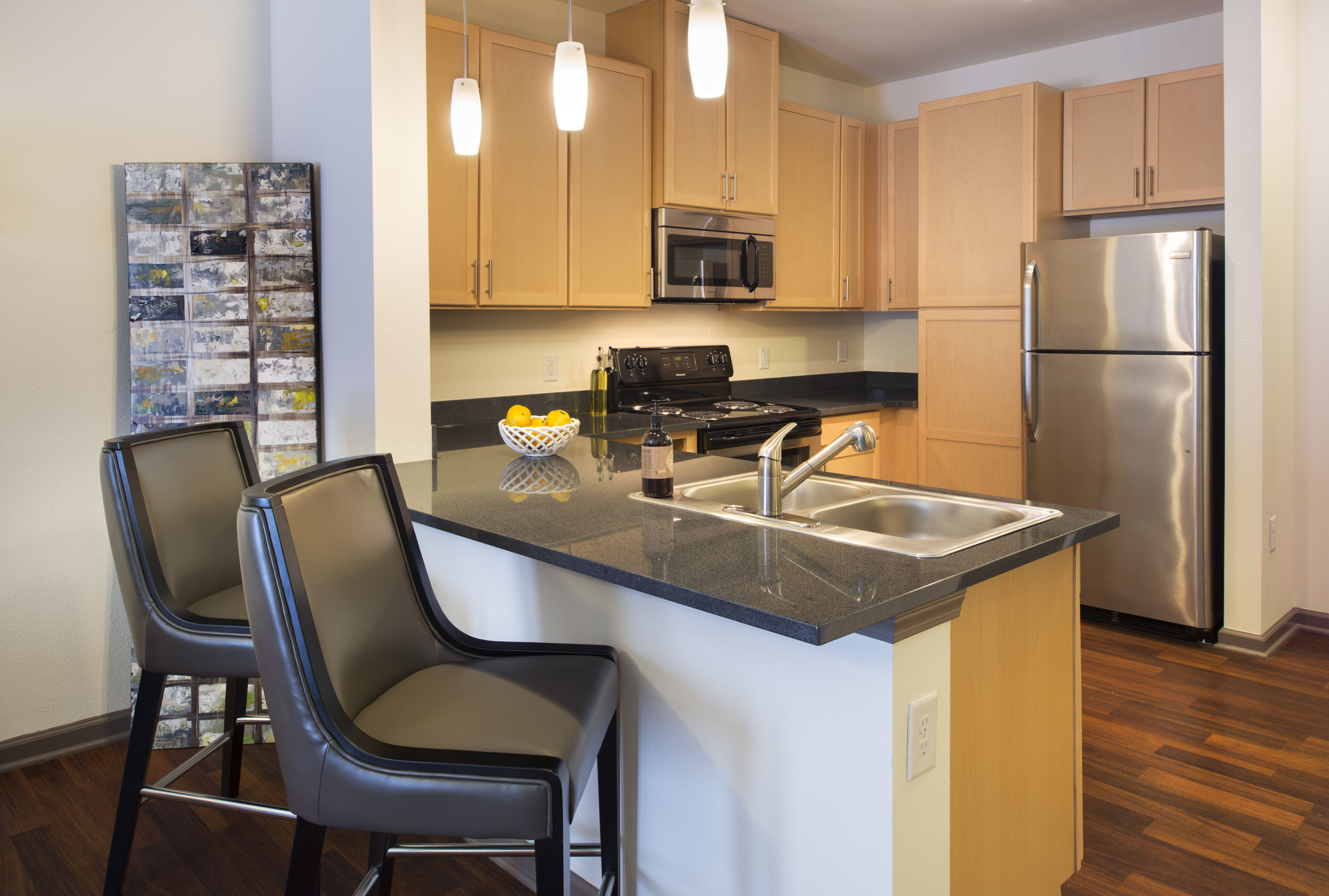 Model Apartment Home At The Boulevard At Oakley Station Located In Cincinnati Ohio Apartments Kitche Apartment Two Bedroom Apartments Apartments For Rent