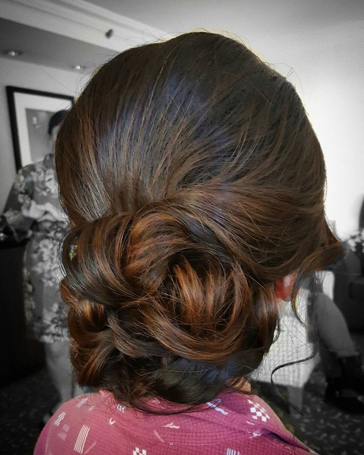 Soft Hairstyles For Weddings: Soft Updo Wedding Hairstyle