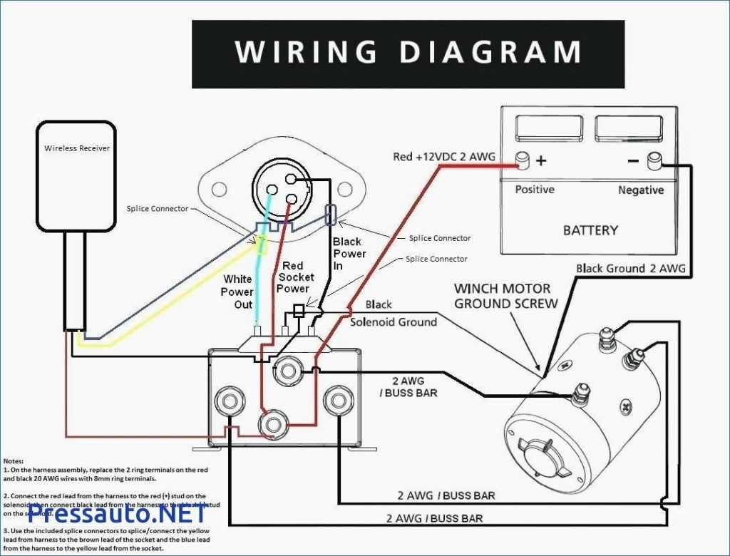 Awesome 12v Winch Wiring Diagram In 2020 Winch Solenoid Electric Winch Winch