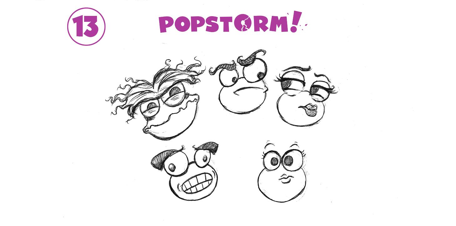 If Poptropicans had eyebrows