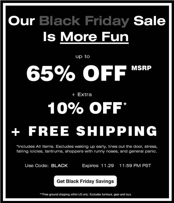 CookiesKids' #BlackFriday sale: 65% off MSRP + extra 10% off + free shipping. Found on DealsAlbum.com.