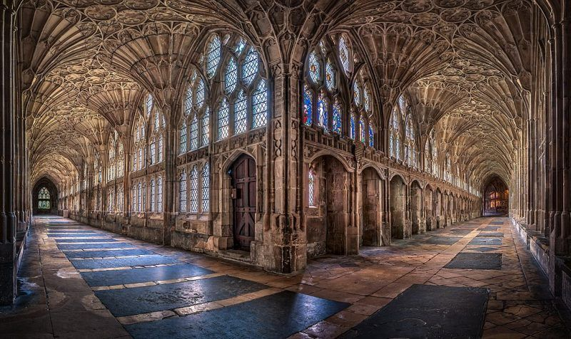 Gloucester Cathedral Kings Cloisters Harry Potter Gloucester Cathedral Cathedral Anne Boleyn