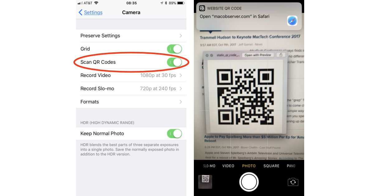 How to Scan QR Codes in iOS 11 Coding, Ios 11, Qr code