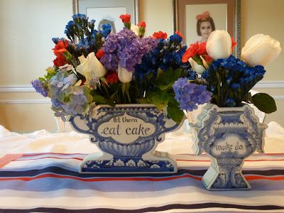 Art @ Home: Election Day Flower Arrangements
