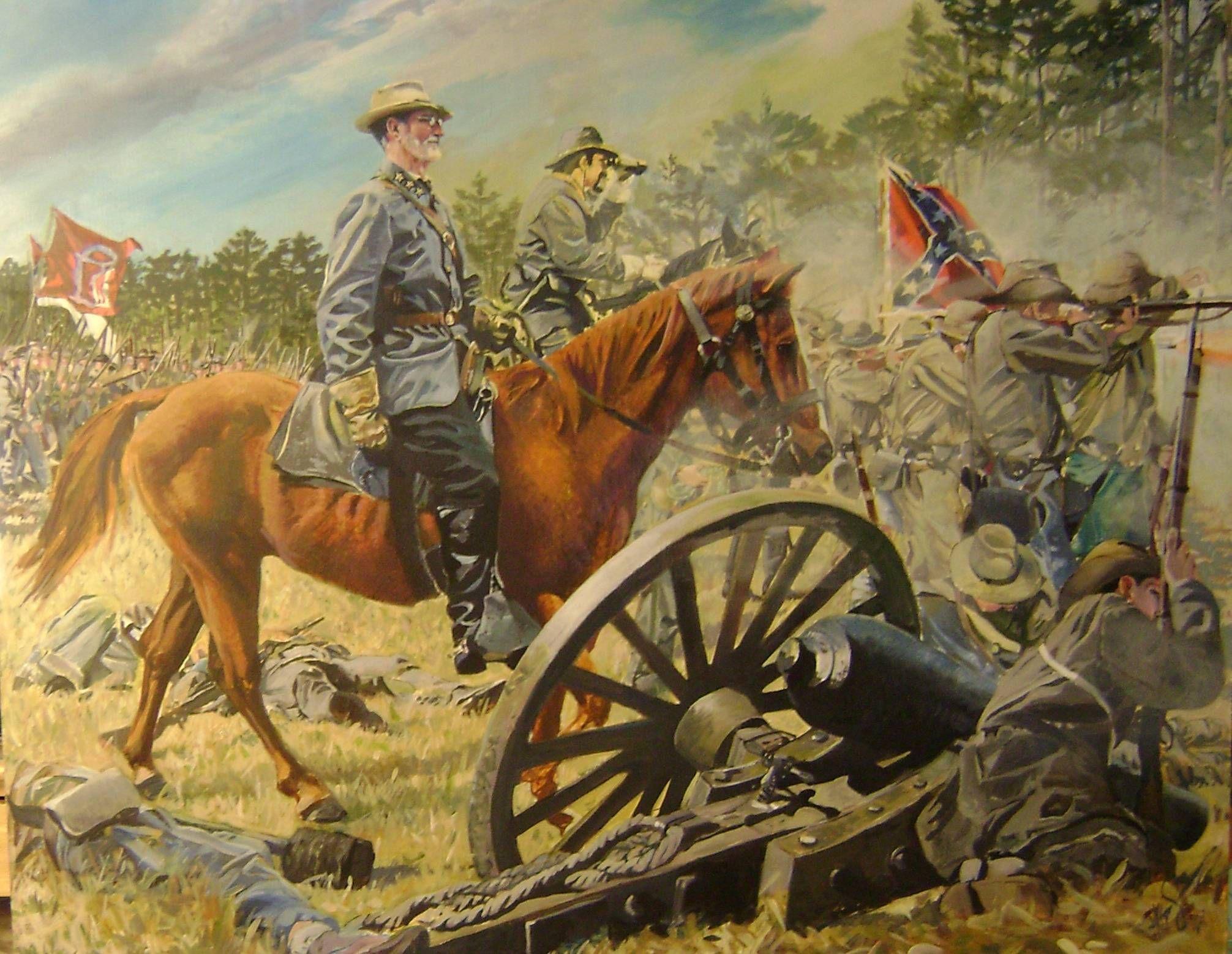 Confederate Soldiers In The American Civil War Art Print ... |American Civil War Battle Paintings