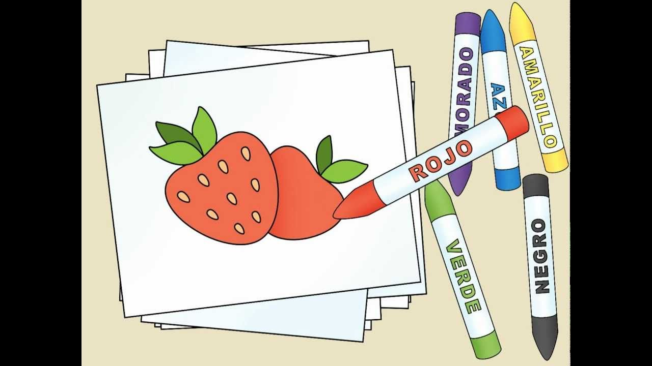 Spanish colors for preschool - What Color Is The Strawberry By Calico Spanish Video With Simple Song