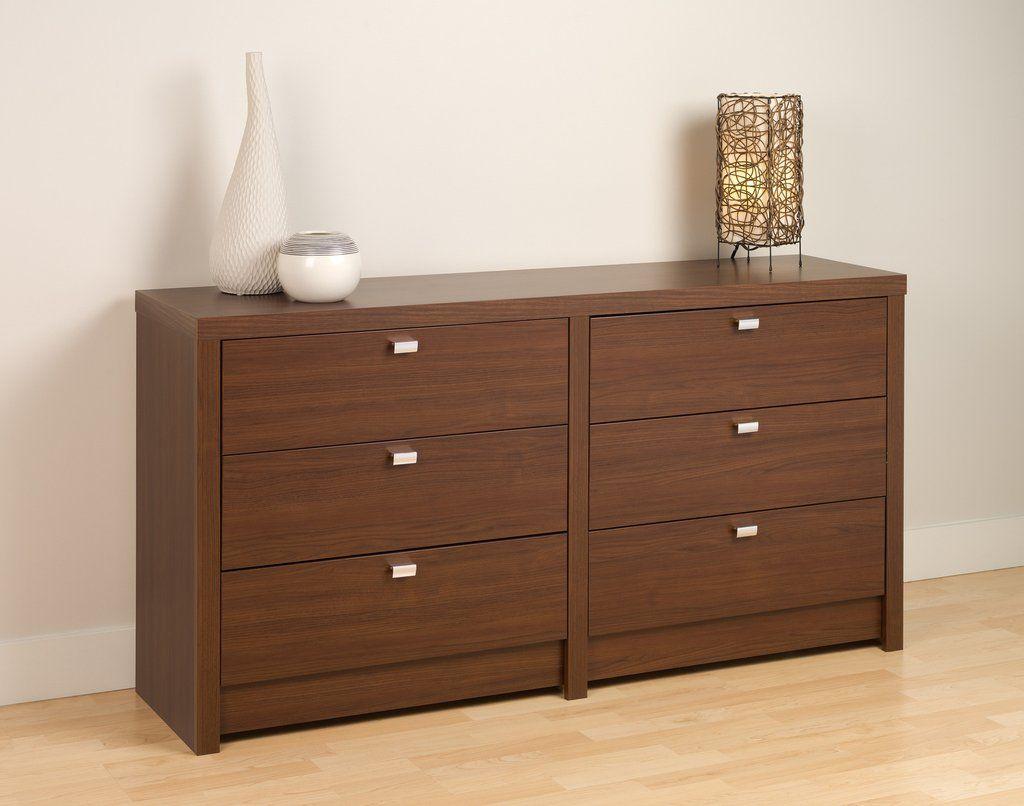 Warm Cherry Series 9 Designer - 6 Drawer Dresser – Wholesale Furniture Brokers