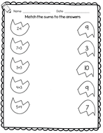 Easter Maths Worksheets For Reception And Year 1 Counting Number Bonds Addition Easter Math Easter Math Worksheets Math Worksheet