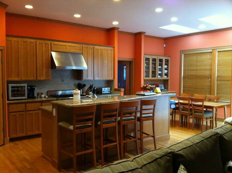 How to Pick Best Indoor Paint Color Combinations with the kitchen ...