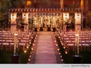 Wedding Line The Isle At Your Outdoor With Candle Impressions Flameless