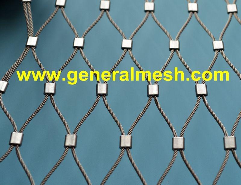 generalmesh Animal Enclosures rope mesh net Material