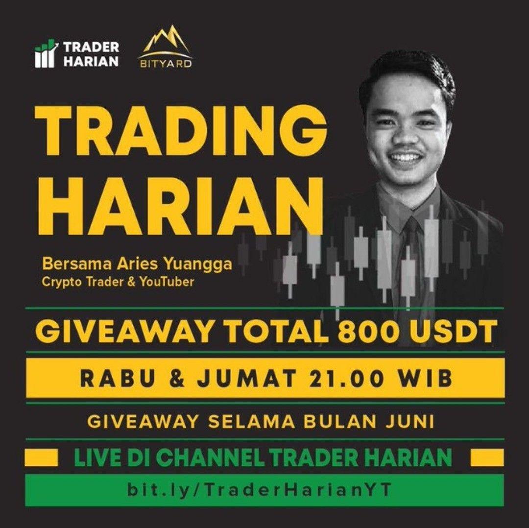 trading kripto harian