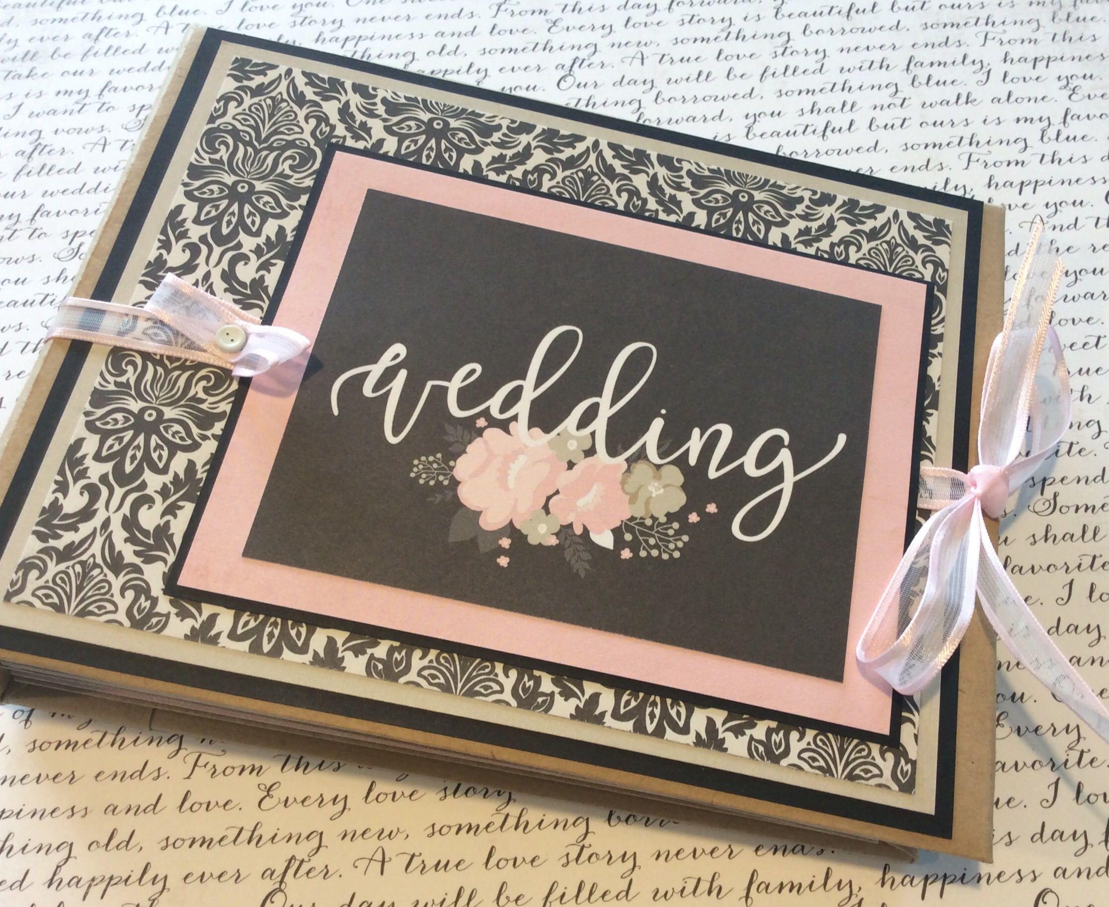 Wedding Album Mini Album Wedding Scrapbook Wedding Photo Etsy Wedding Scrapbook Mini Albums Wedding Album