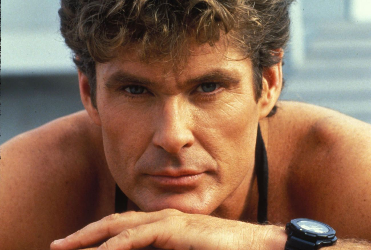 4270b3ee22 Baywatch : Then and Now : David Hasselhoff (Mitch Buchannon) | David ...
