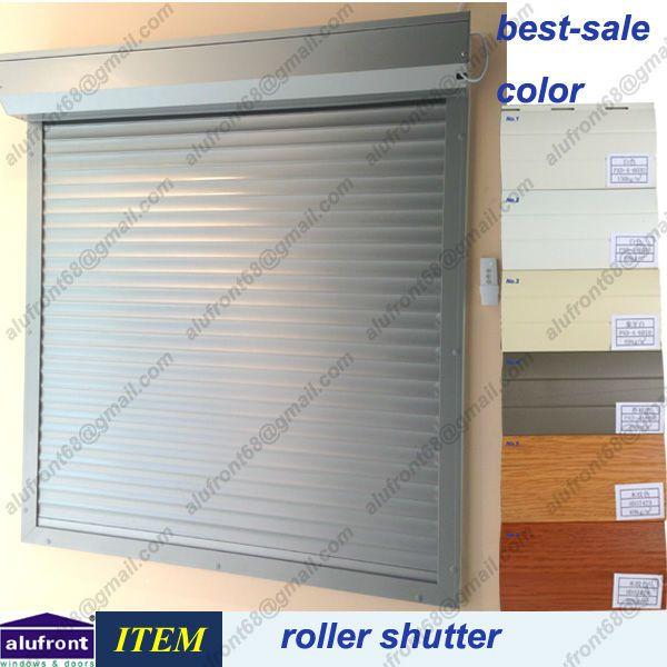 Exterior: Aluminum Security Roller Shutter $80~$110