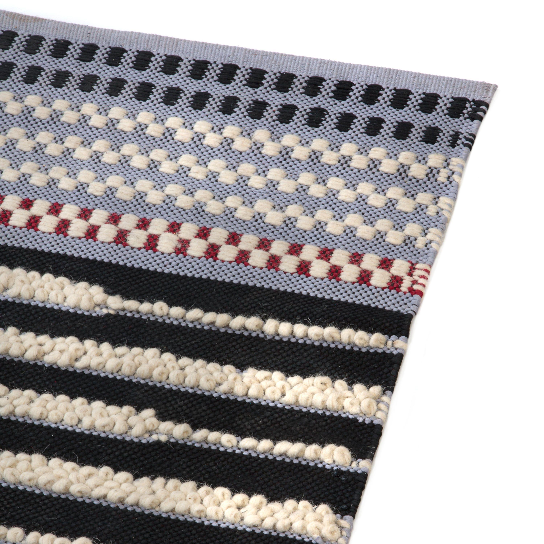 Best Mackenzie Childs Checker Dot Rug Grey 2 X 3 Grey 400 x 300