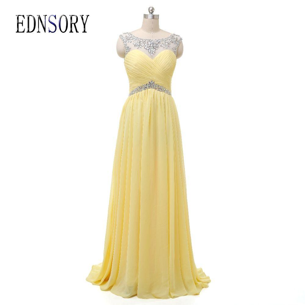 Vestidos de festa long bridesmaid dresses beading crystal pleat