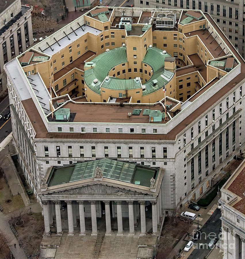 New York City Boroughs Manhattan New York State Supreme Court Building Formerly New York County Courtho Supreme Court Building New York State Aerial Photo