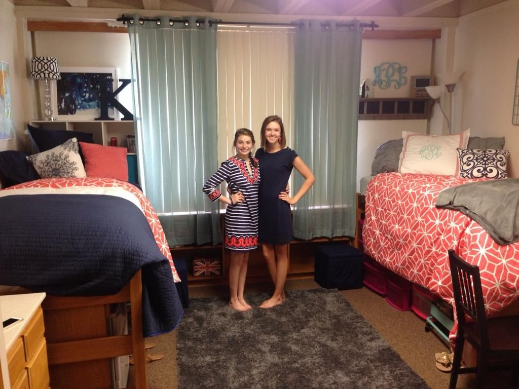 Dorm Room Ideas For Girls Lofted Bed