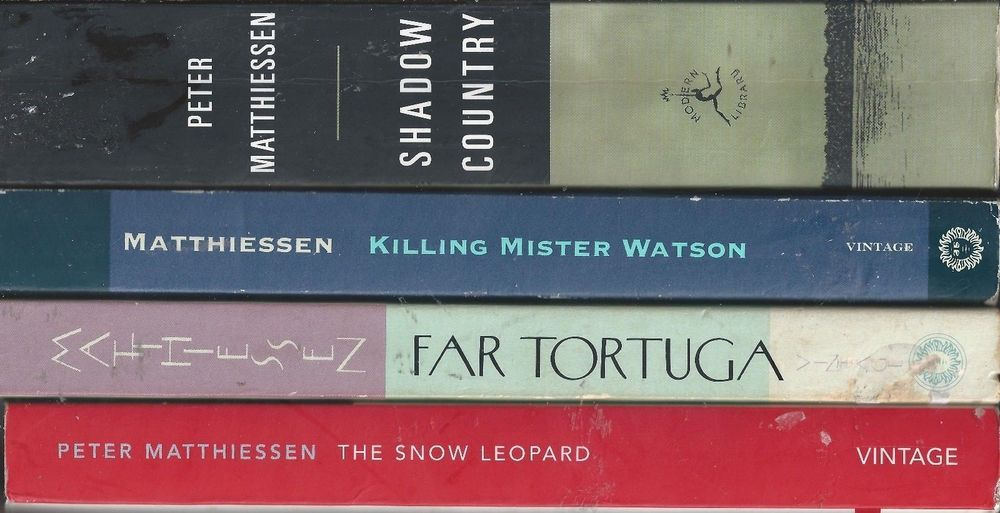 Peter Matthiessen Pb Lot Snow Leopard Shadow Country Far Tortuga