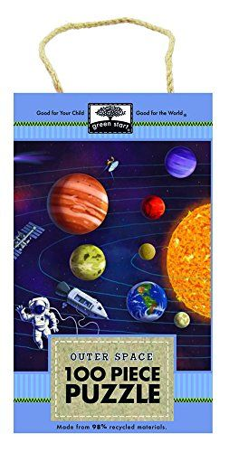Innovative Kids Green Start 100-Piece Puzzle: Outer Space ...