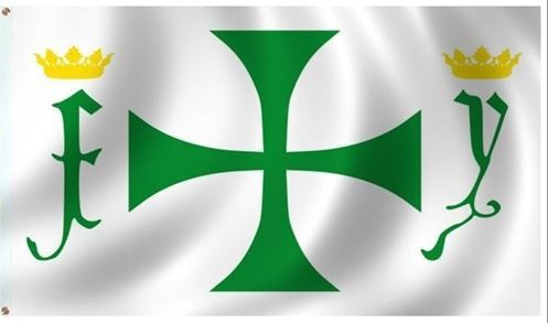 The Columbus 3 Foot X 5 Foot Historical Flag Is Ideal For Residential Or Commercial Applications Printed On Solarma Historical Flags Flag Christopher Columbus
