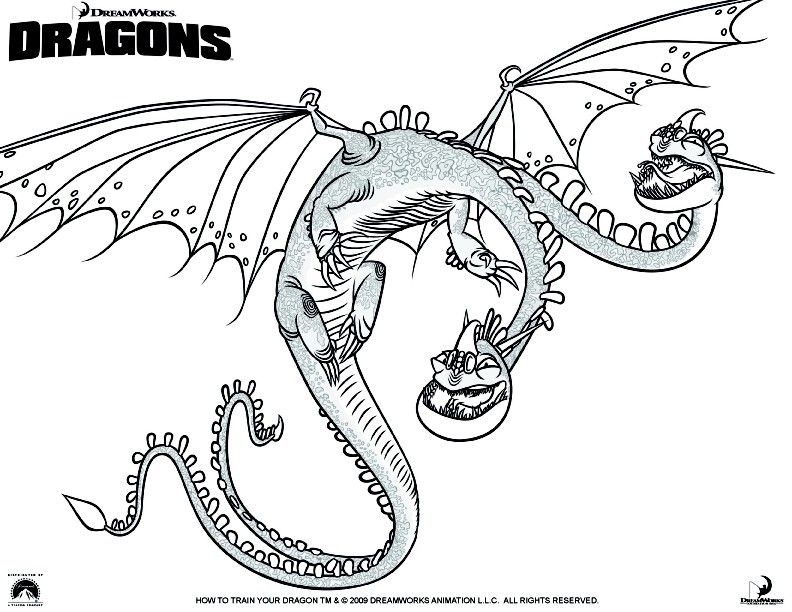 Coloring Page How To Train Your Dragon 5 Dragon Coloring Page Dragon Pictures To Color How Train Your Dragon