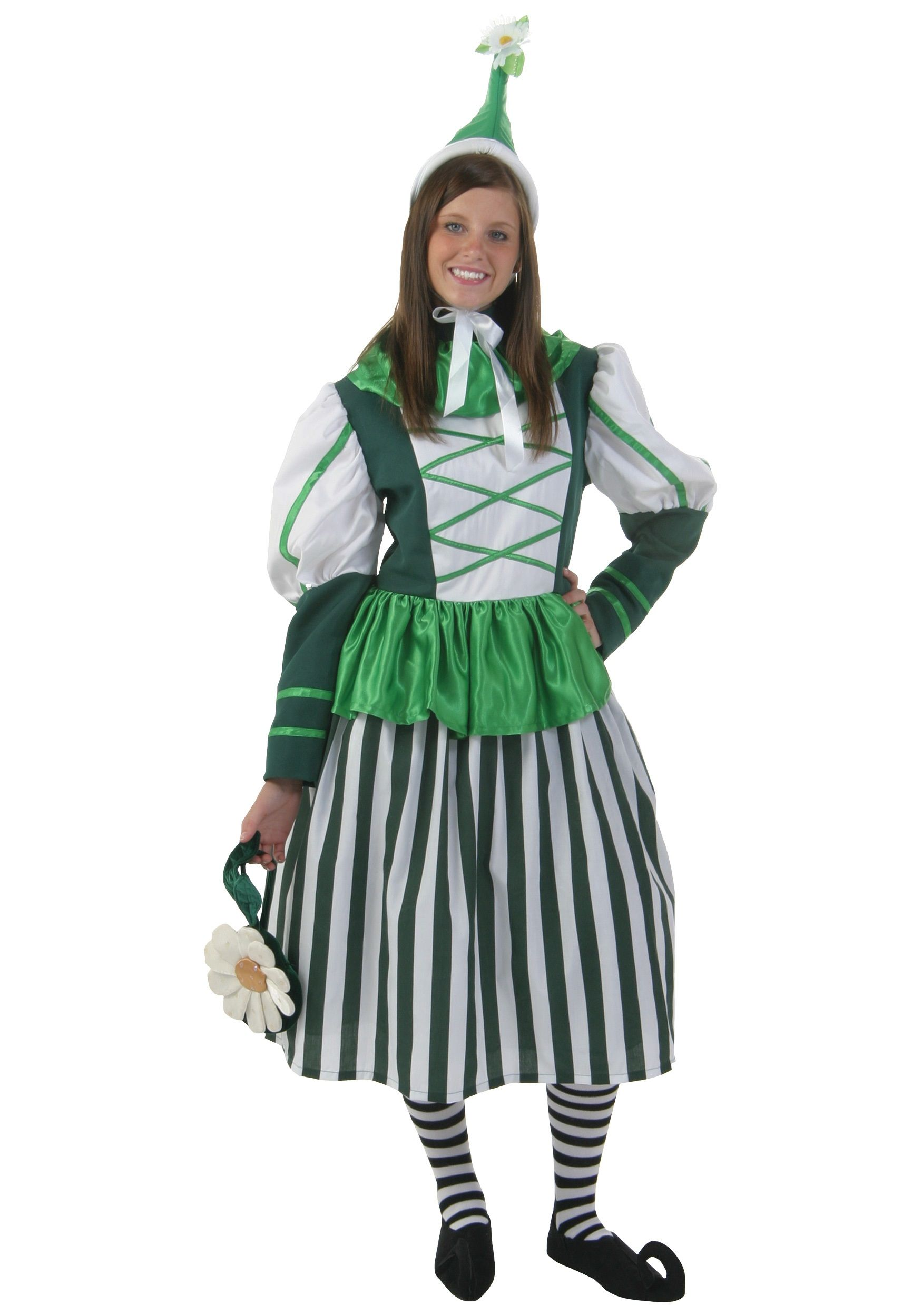 Deluxe Plus Size Munchkin Woman Costume - Womens Wizard of Oz ...