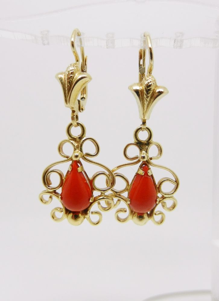 Red /& Gold Dangles