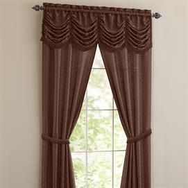 Panache 5 Pc One Rod Curtain Set All In One Window