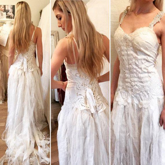 Hey, I found this really awesome Etsy listing at https://www.etsy.com/listing/481006171/sold-boho-wedding-dressbridal-eco