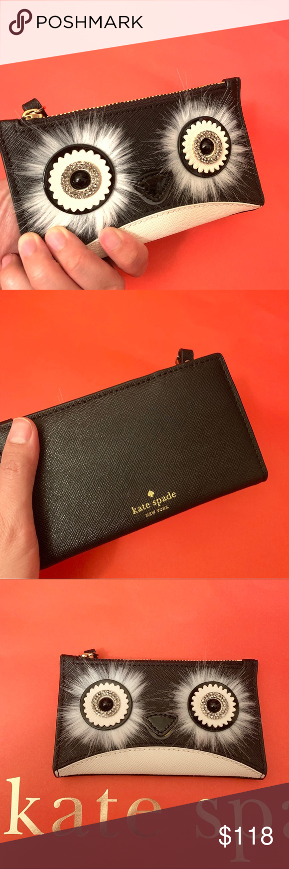 Kate Spade Dashing Beauty Mikey Penguin Wallet
