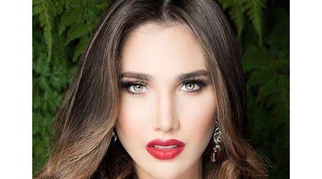 Edymar Martínez lució su traje típico en Miss Internacional