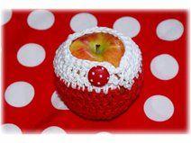 APFELTASCHE...oder auch Apfeltäschchen, Apfelgarage, Apfelbeutel, Apfelsocke oder wie man es nennen mag :))