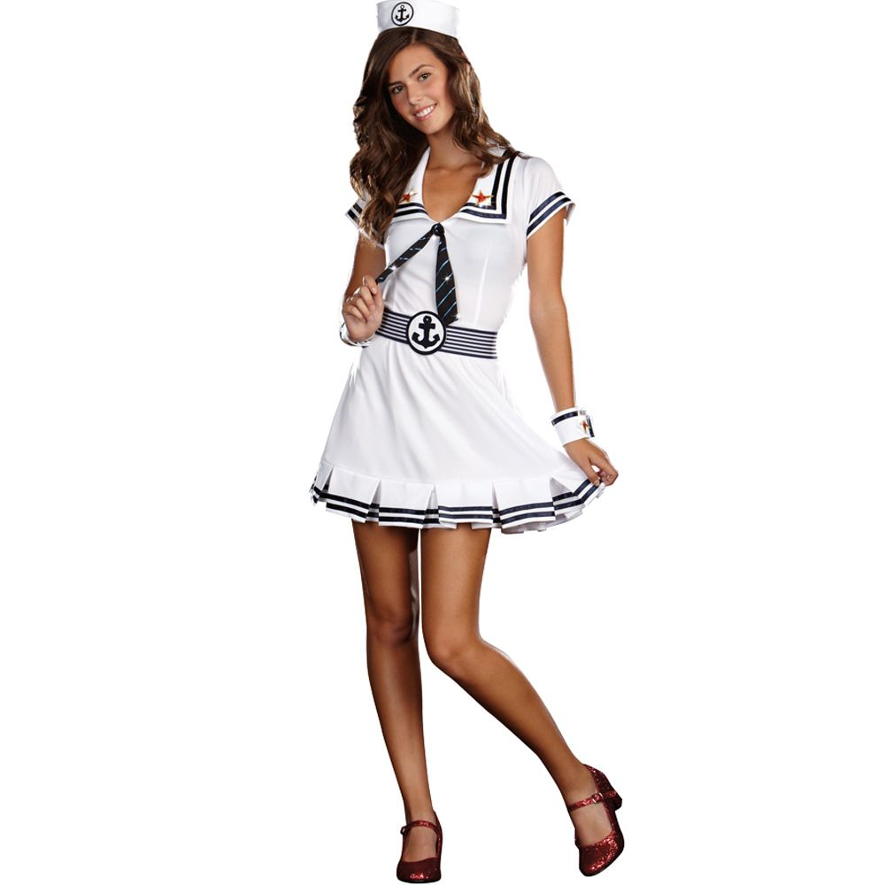 Costume Ideas Cute: Cruise Cutie Sailor Girl : Teen Costumes
