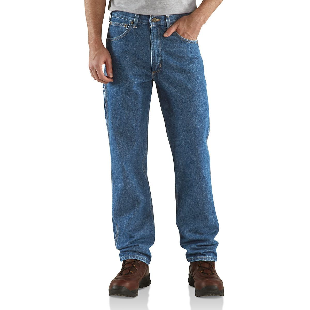 Shop The Relaxed Fit Carpenter Jean For Men S At Carhartt Com For Men S Pants That Works As Hard As Yo Carpenter Jeans Carhartt Carpenter Jeans Loose Fit Jeans