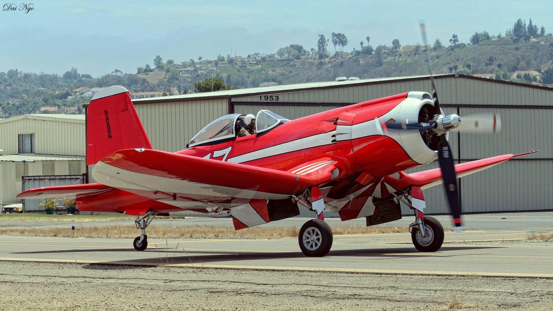 Flamboyant 57 F2G1 Corsair. Reno air races, Aircraft