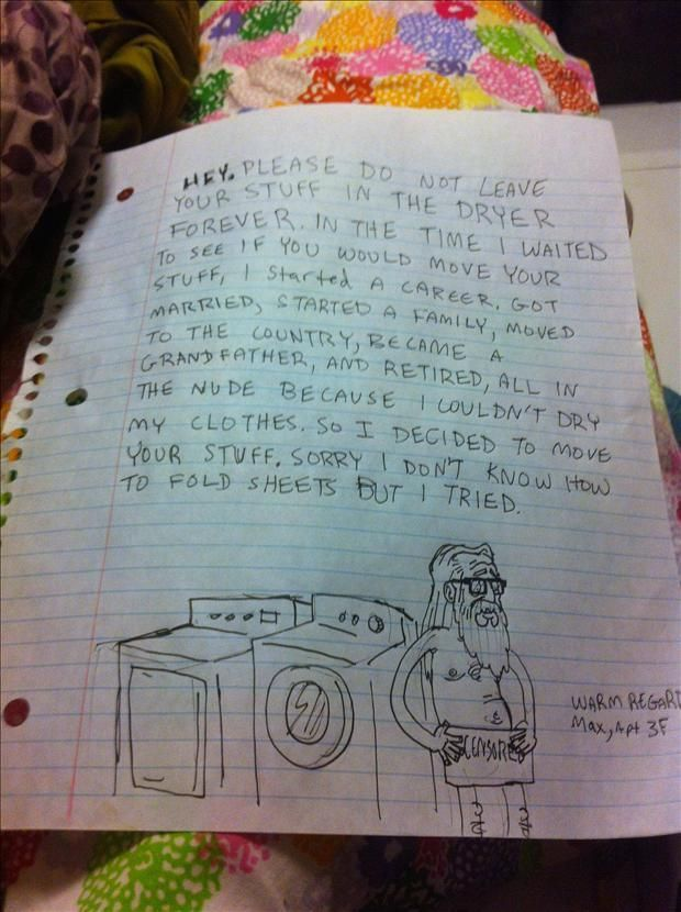 16 Passive Aggressive Notes From Neighbors That Make Yours