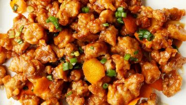 Panda Express Orange Chicken #chineseorangechicken