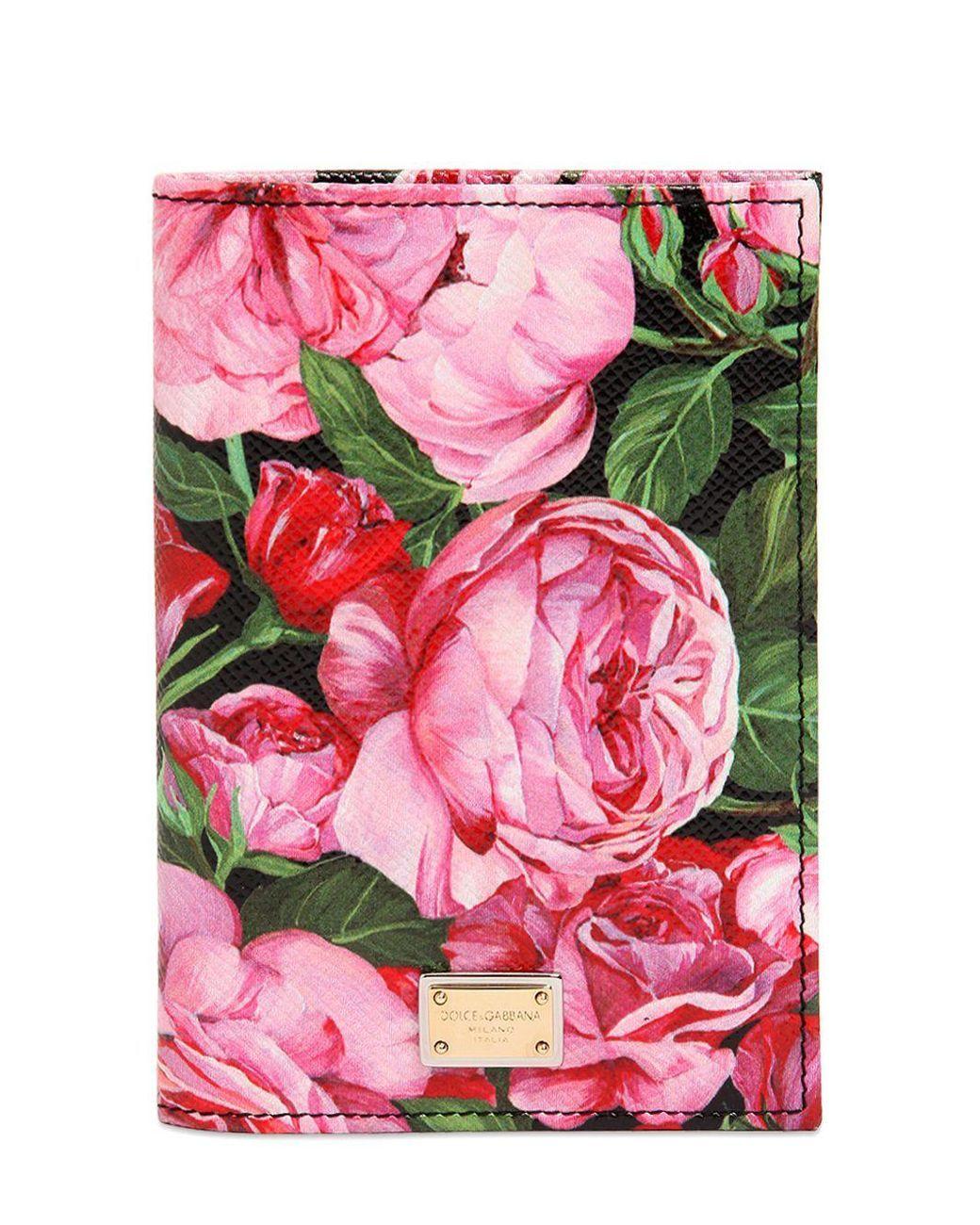 logo passport cover - Pink & Purple Dolce & Gabbana Sale Cheap Prices Buy Cheap Browse onU3bleA4r