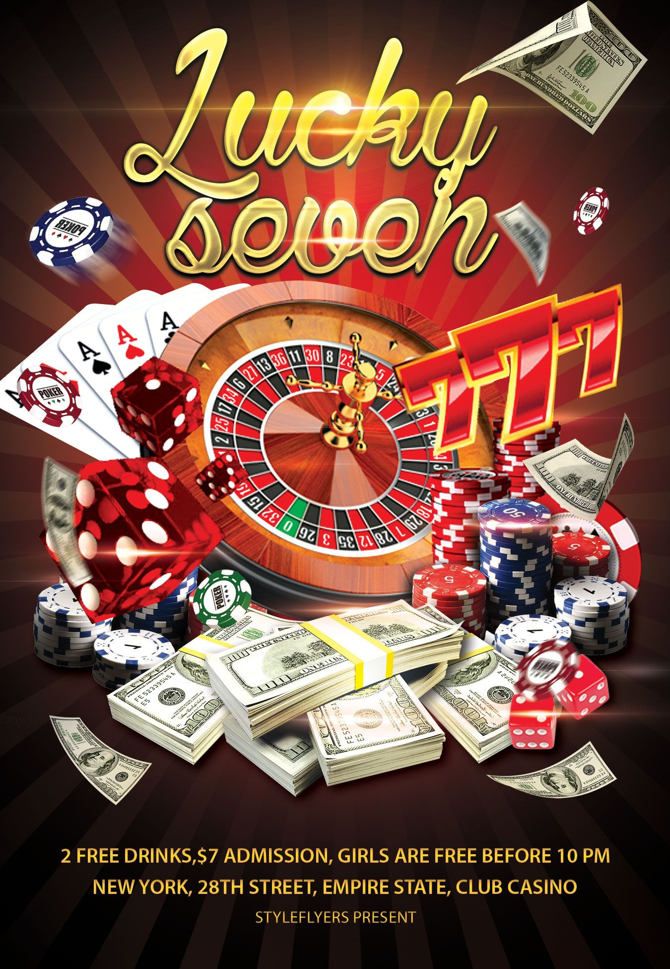 Lucky seven gamble flyer free download 2914 fortune