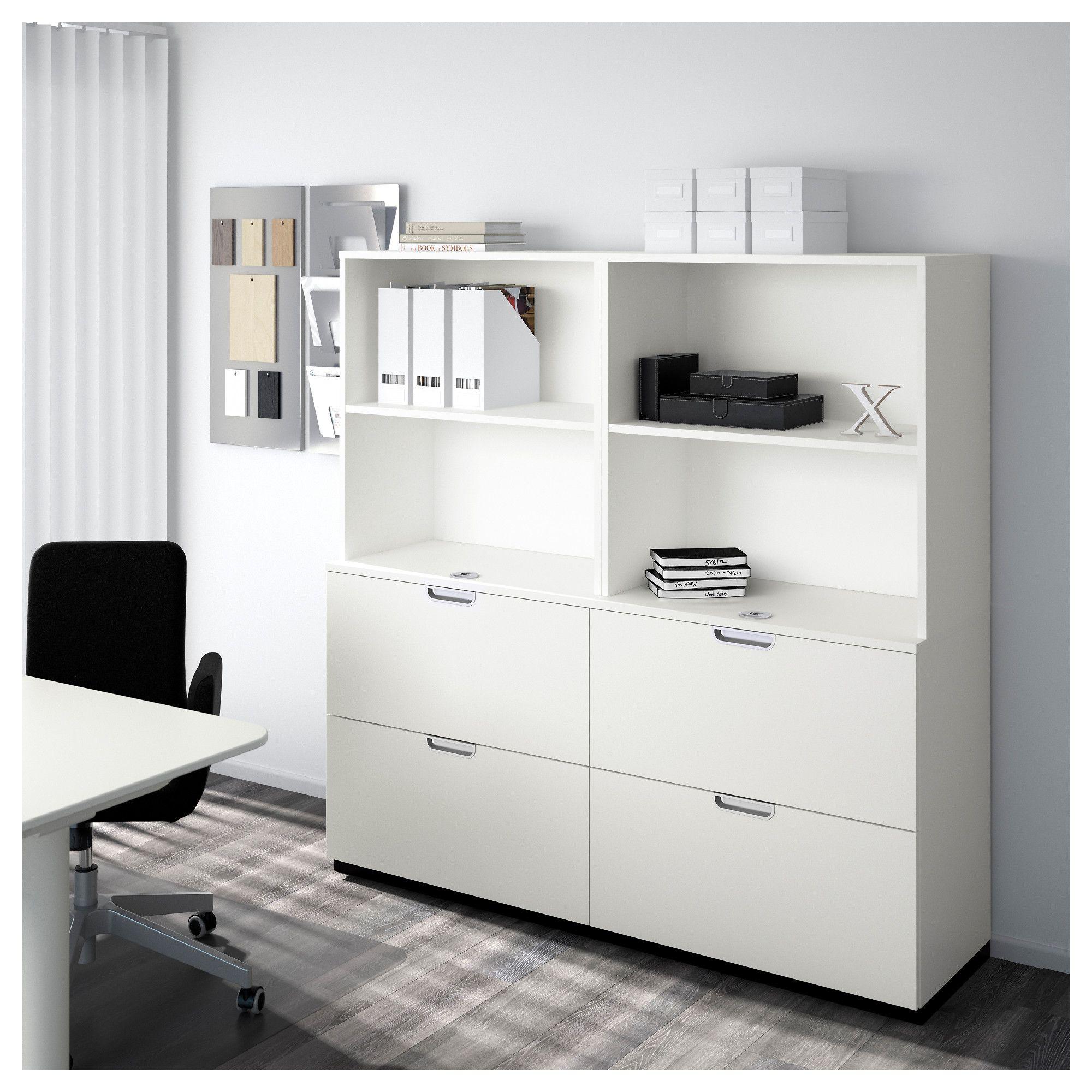 Galant Ikea ikea galant storage combination with filing white uni room