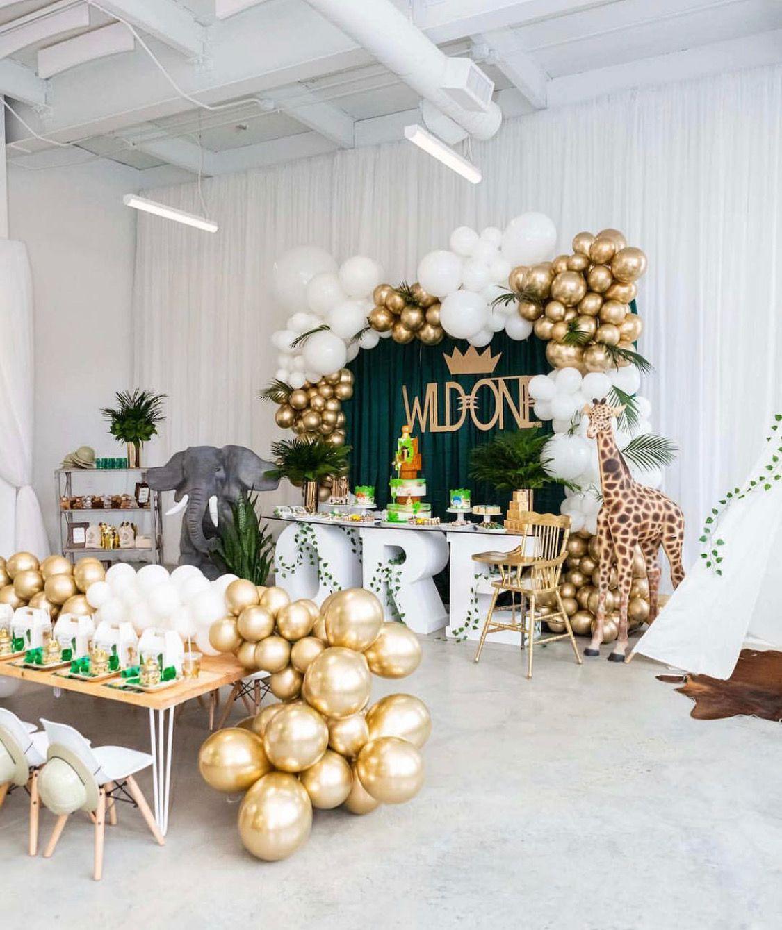 Wild One Birthday Party Decor Balloon Decor Inspiration