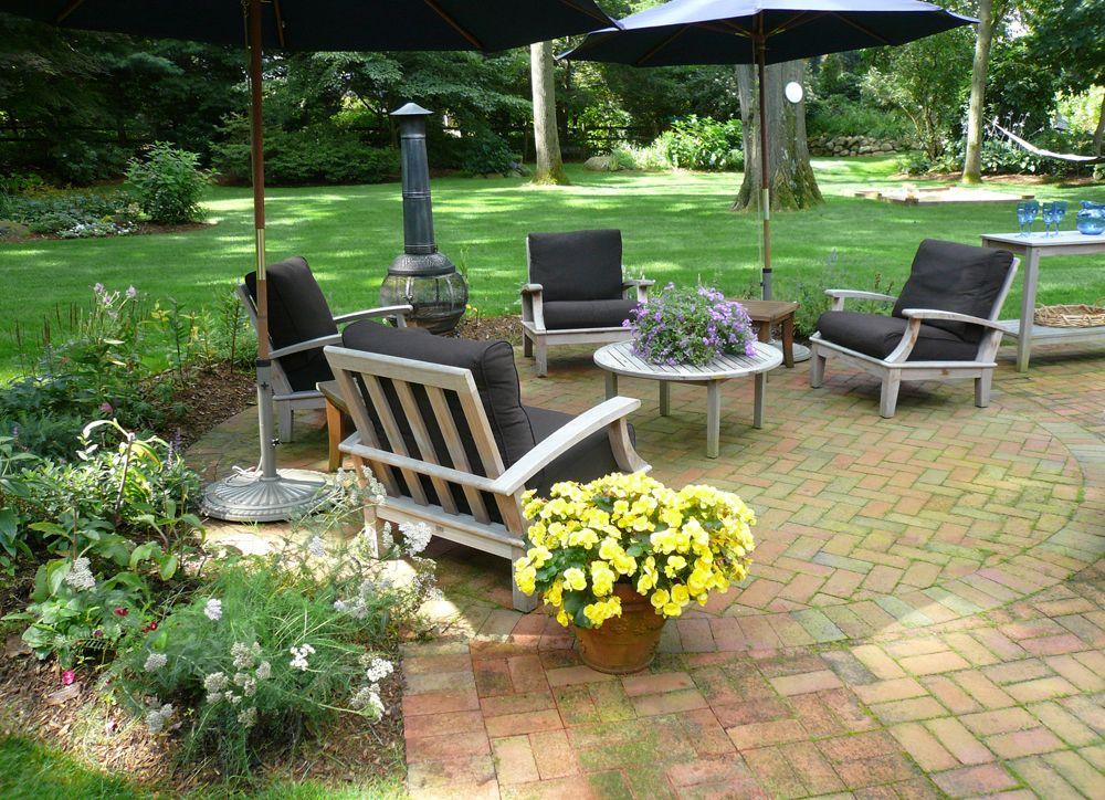 Backyard landscape design bergen county nj with images