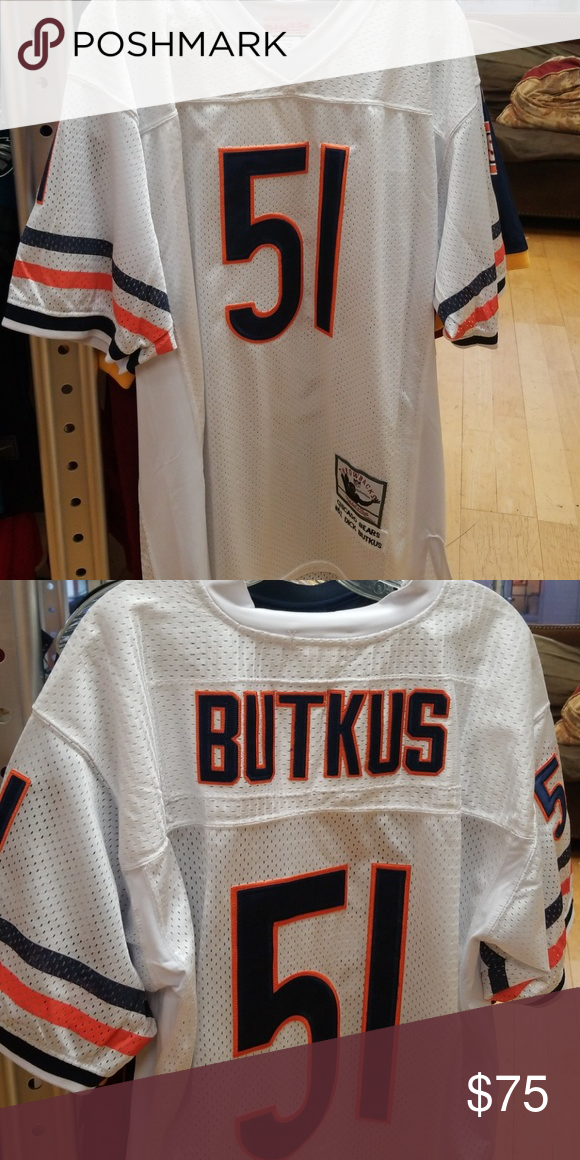 newest 2aaaa 053cb Chicago Bears Mens Jersey Dick Butkus throwback Jersey NFL ...