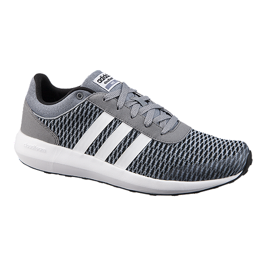 These adidas CloudFoam Race Men\u0027s Casual shoes have a clean look inspired  by modern runners.