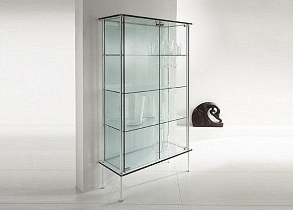 Awesome Glass Cabinets For A Chic Display